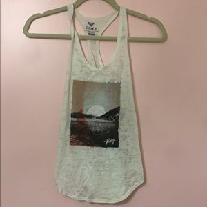 Roxy Graphic Tank